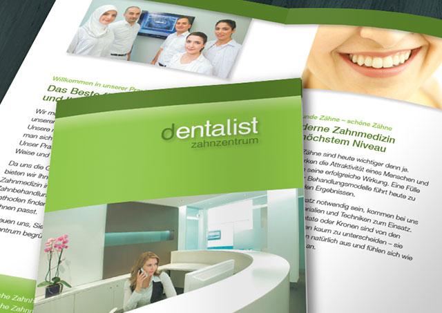 Zahnarzt-Flyer