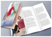 Selbstdarstellungs-Flyer für die Physiotherapie-Praxis am Savignyplatz